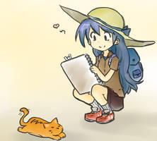 Waifu Request 66 - Sketching Practice