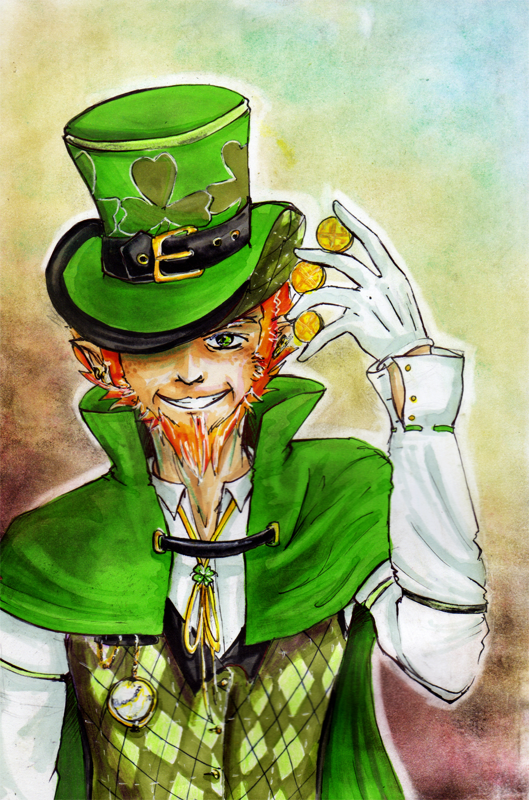 Leprechaun by linipik on deviantart leprechaun by linipik altavistaventures Gallery