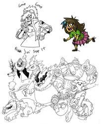 Tumblr Sketchdump: Pokemon Edt by RosieHasASoul