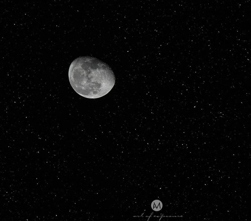 Pure clear night sky  by artofexpo