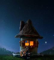Night sky melody by artofexpo