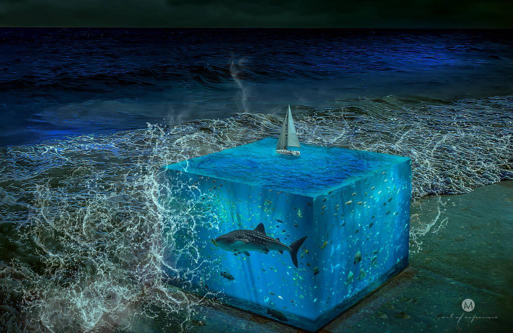 Water Cube by artofexpo