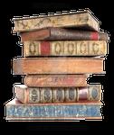 Leather Bound Books 1, pre-cut stock