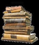 Leather Bound Books 2, pre-cut stock