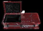 Coffin - Casket open Red 2