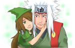 Kuniko and Jiraiya