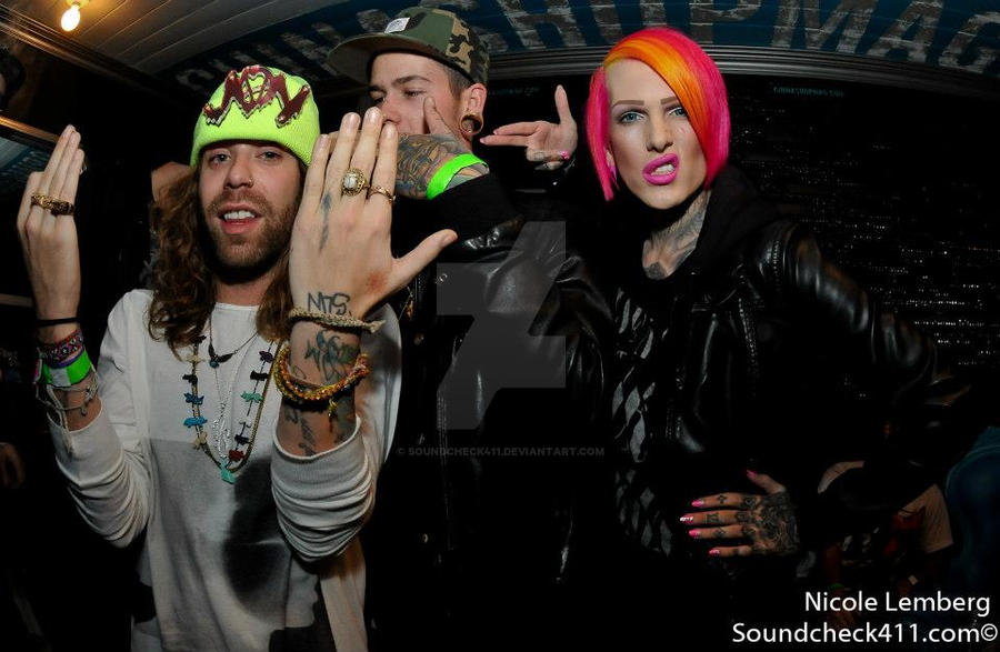 Mod Sun, T. Mills and Jeffree Star by Soundcheck411