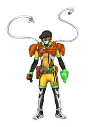 Kamen Rider Utsura Level 3 Mode by starofjustice