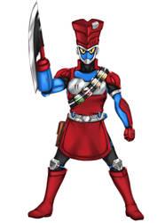 Kamen Rider Sling Level 3 mode by starofjustice
