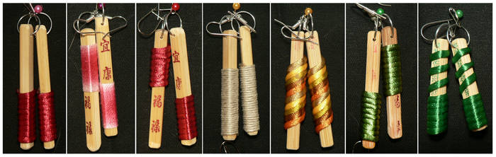 more recycled chopsticks by JuleeBorges