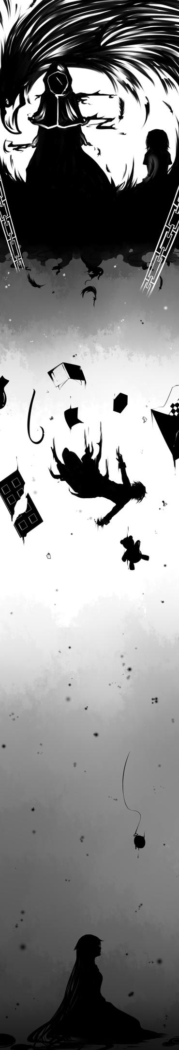 PH: Sinking Into Despair by tettere-ko