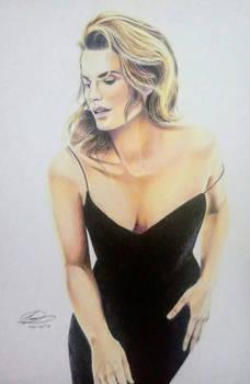 Stana Katic Drawing | Figure Study