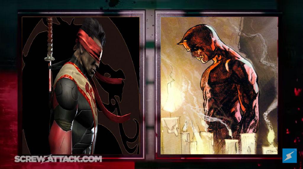 Kenshi VS Daredevil - Interlude by Derpurple on DeviantArt