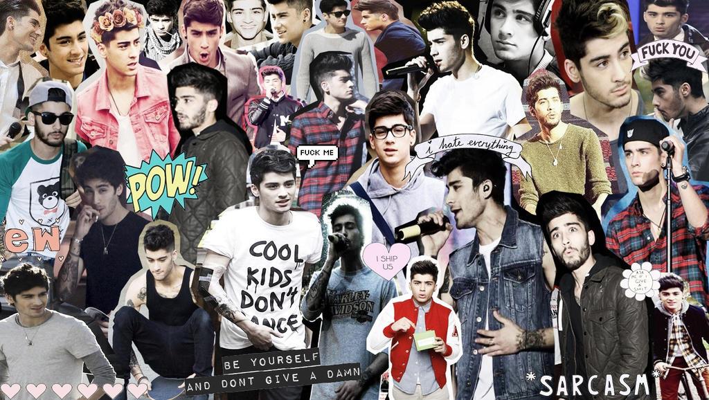zayn malik collage wallpaper -#main