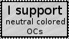 neutral color OC support stamp by TheLeetCasualGamer
