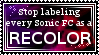 Not all Sonic FCs are recolors