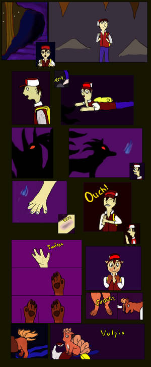 The curse of Ninetales (Vulpix TF)