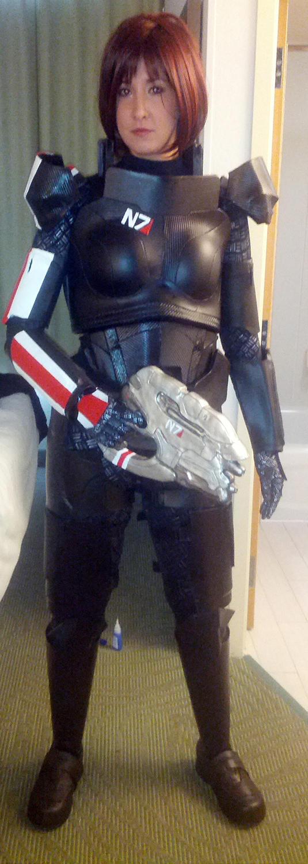 Commander Shepard - Mass Effect 3 by Quartknee