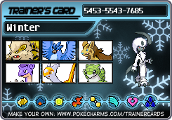 MicroDogWinter 's Trainer card by RiseJackFrost