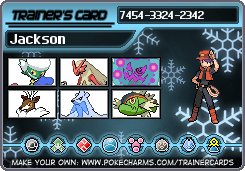 my Pokemon Trainer card as a human by RiseJackFrost