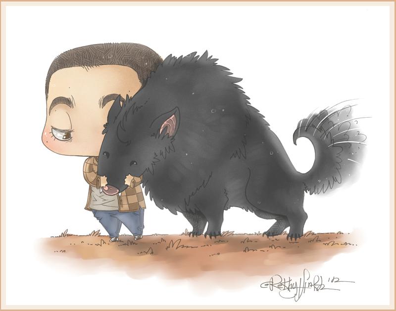 My private werewolf by RekhytAnkh
