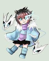 :Undertale: Sans x Frisk child by Euraysia