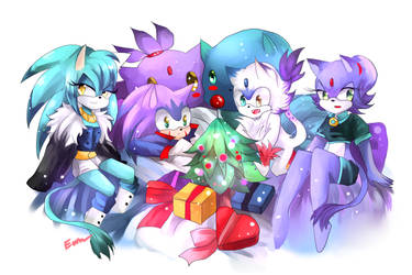 :AT: Merry Christmas [Sonaze child] by Euraysia
