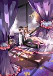: OC : Flower sky