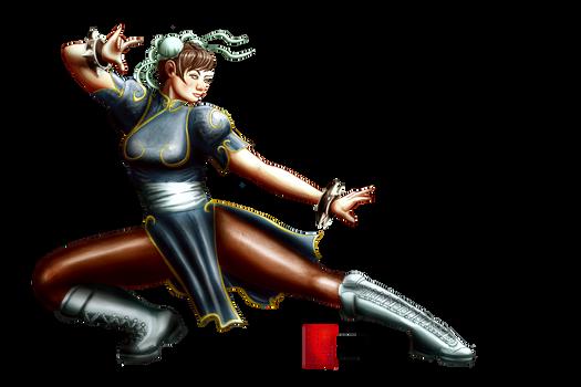 Chun-Li by Kazuo