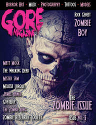 Gore Noir - Zombie Issue by kobaru