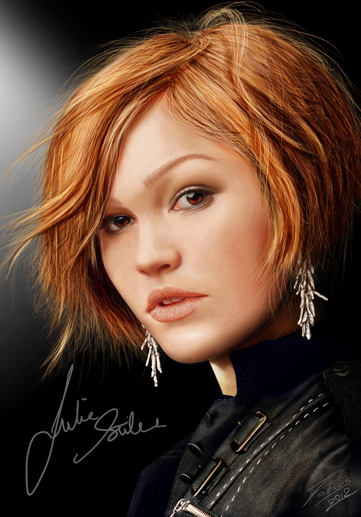 Julia Stiles by fabius72