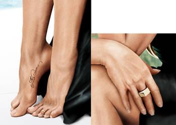 Jennifer Aniston details by fabius72