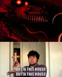 Outta this house! by onyxcarmine