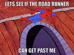 Good luck Spiderman