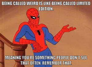 Advice Spiderman