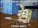 I'm okay, honest
