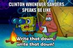 Write that down, write that down