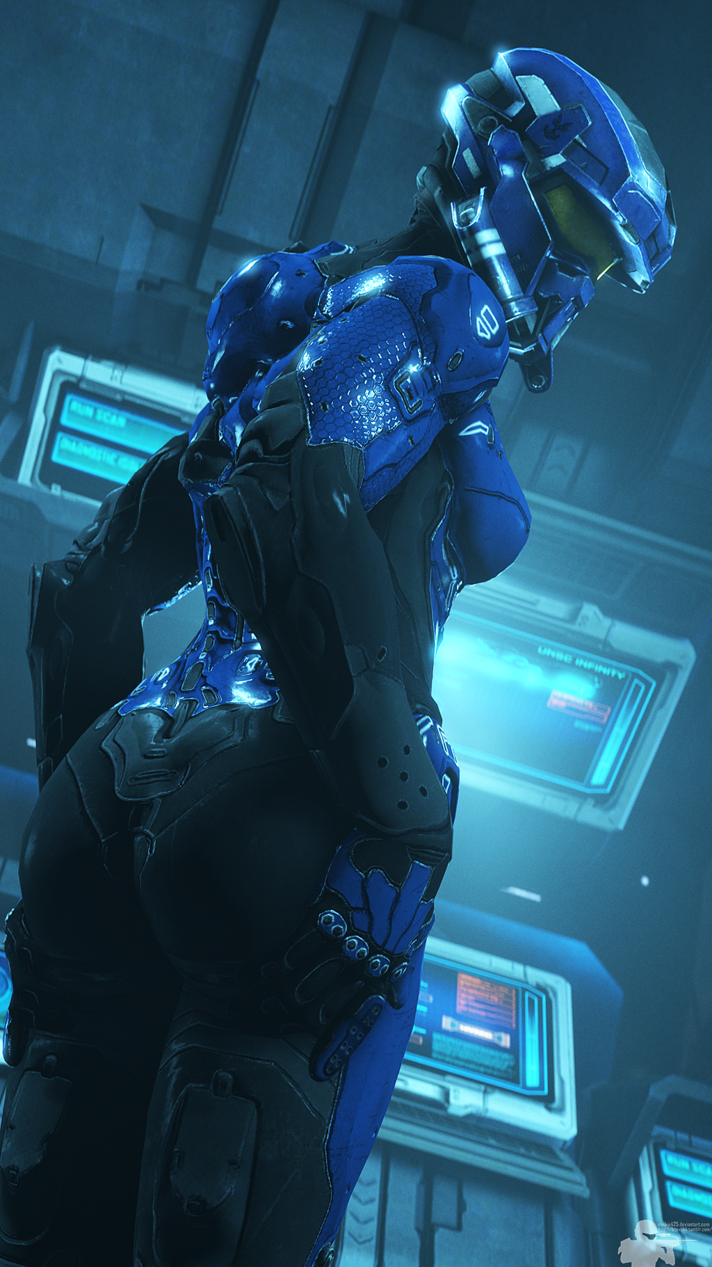 Halo 5 cortana porno sexy photo