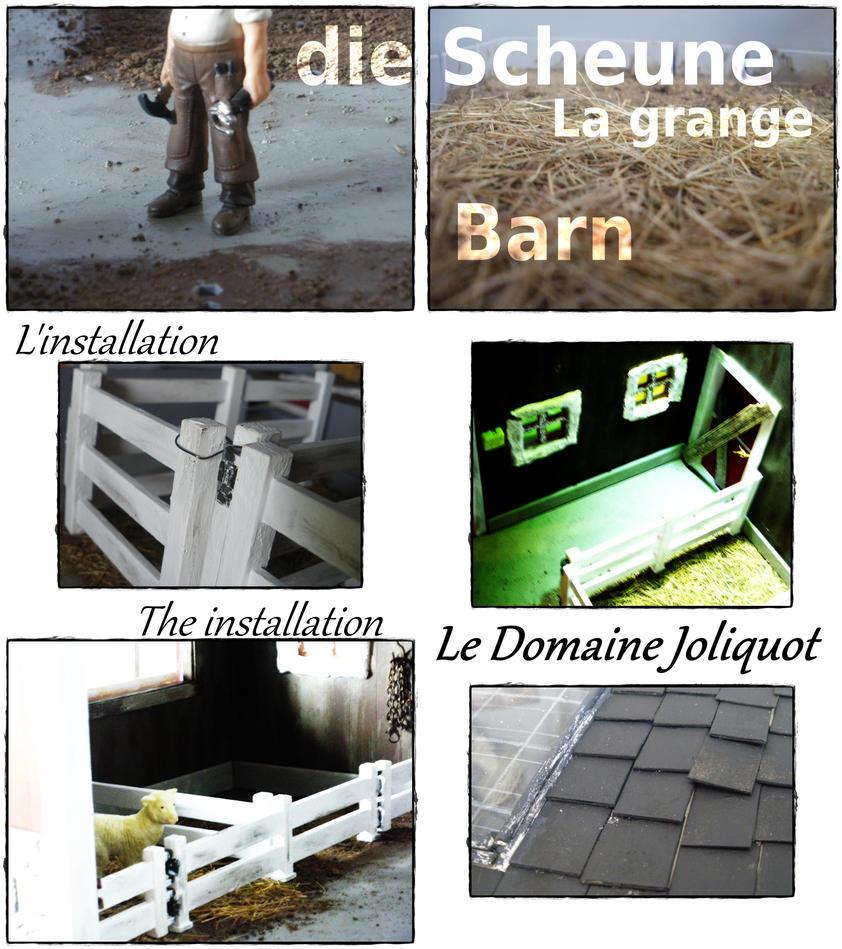 Le domaine Joliquot, la grange-barn by MsLacabra
