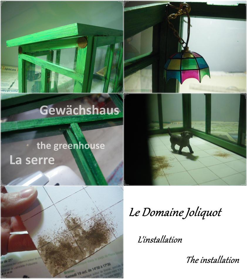 Le domaine Joliquot, la serre-the greenhouse by MsLacabra