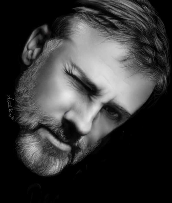 Christoph Waltz by Alannah-Rose
