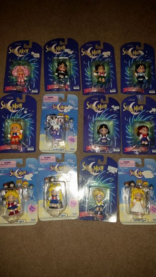 90's Sailor Moom figures by soundofsilver