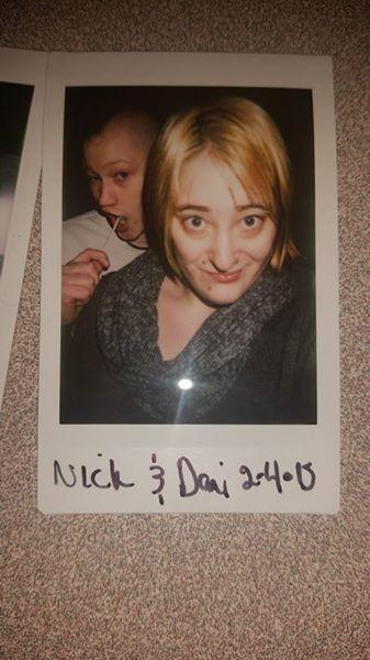Guess who got a Polaroid camera? by soundofsilver