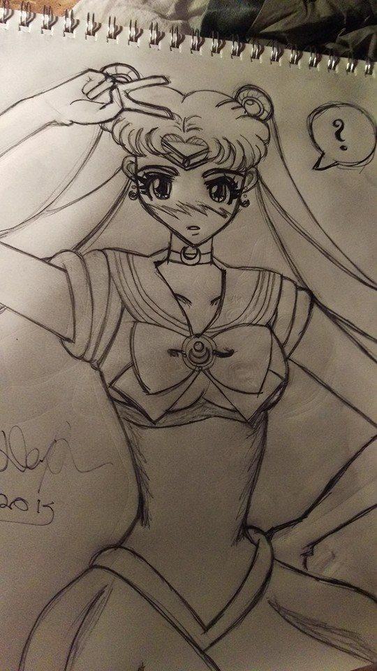 Kawaii Sailor Moon by soundofsilver