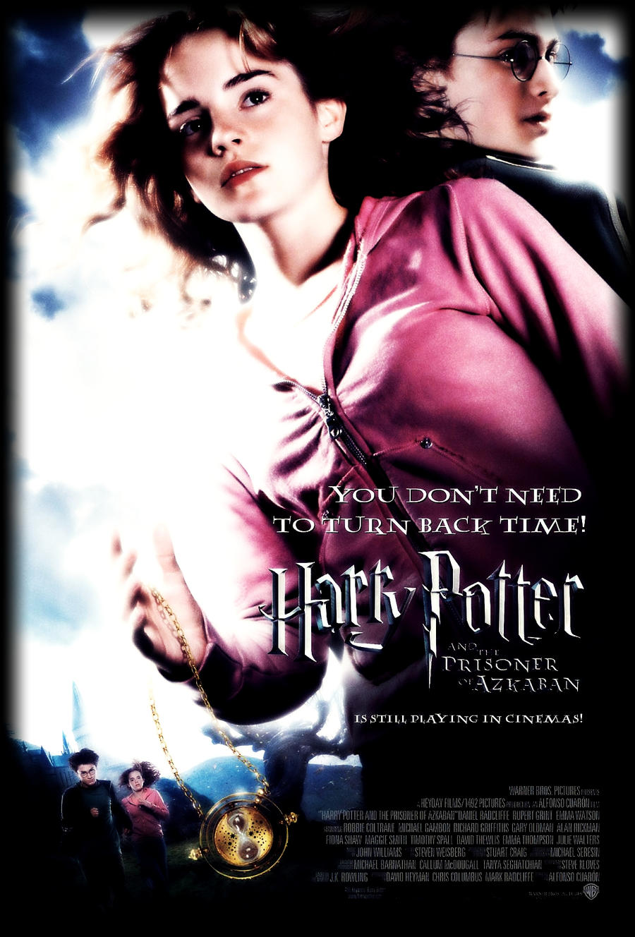 harry potter and the prisoner of azkaban poster by tokimemota d59v9pz Harry Potter Movie Series 1 8 Download / online In Hindi 300MB