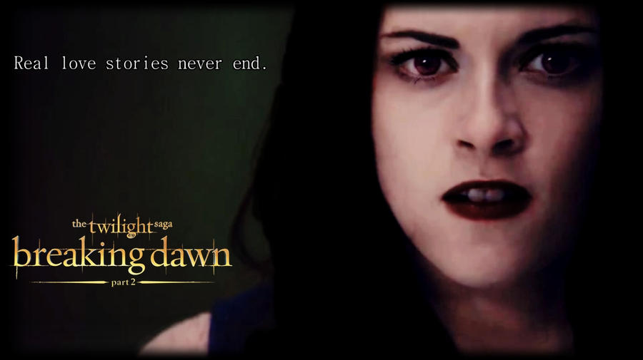 breaking dawn part 2 poster bella cullen by tokimemota on