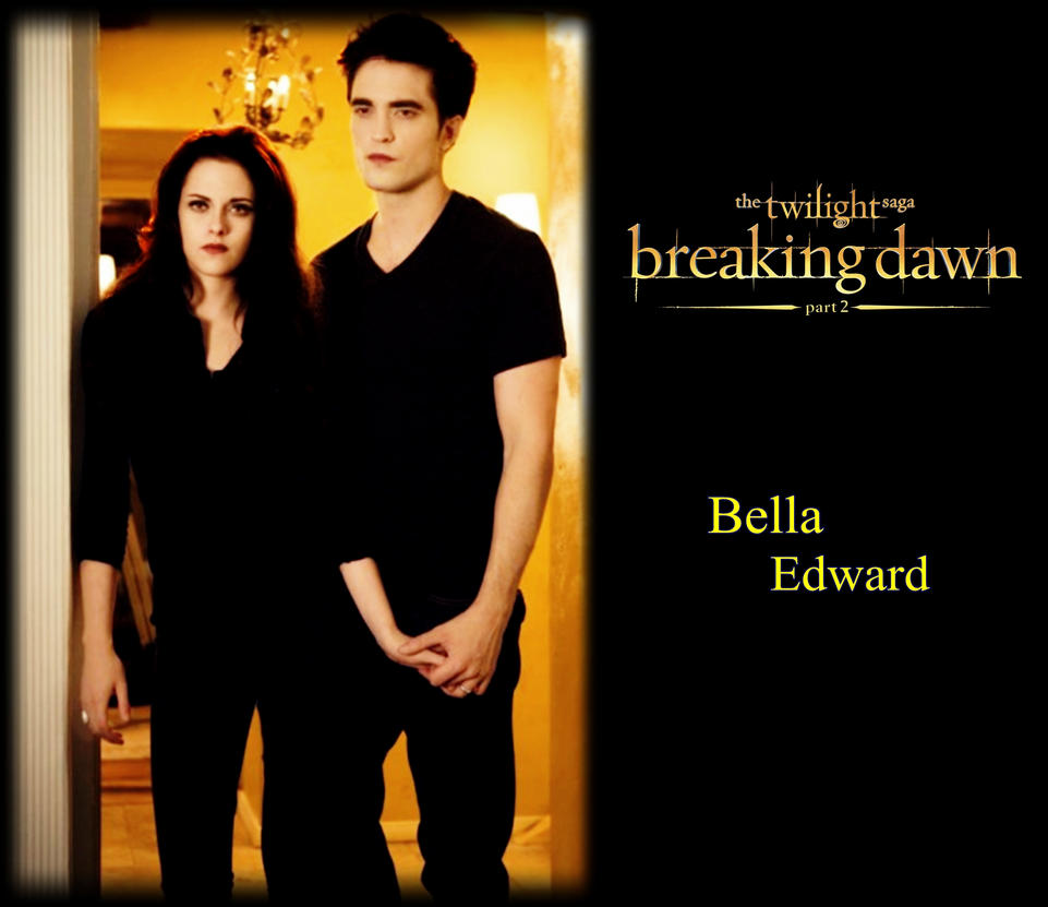 breaking dawn part 2 poster Bella and Edward by Tokimemota ... Bella And Edward Breaking Dawn Part 2 Cover Photo