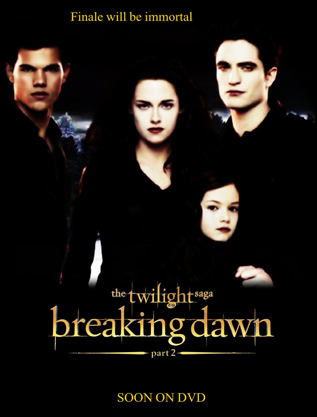 breaking dawn between the book and movies essay Twilight encourages abstinence until marriage, and although the final novel, breaking dawn, has some underlying sexual themes, they purely pertain to the plot and are not described in scenes, only referenced to still, the novels are far cleaner than content found in other books written for the same age range, television, movies, and magazines.