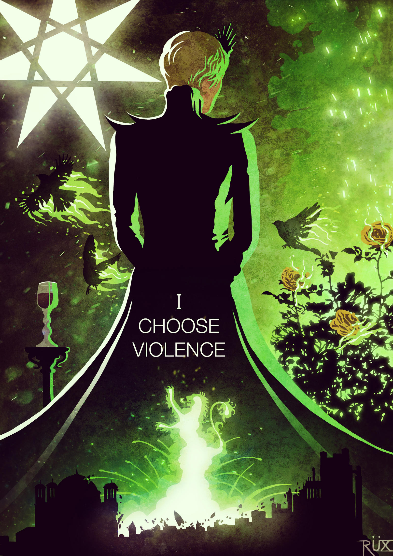 I choose violence by Lord-Corr