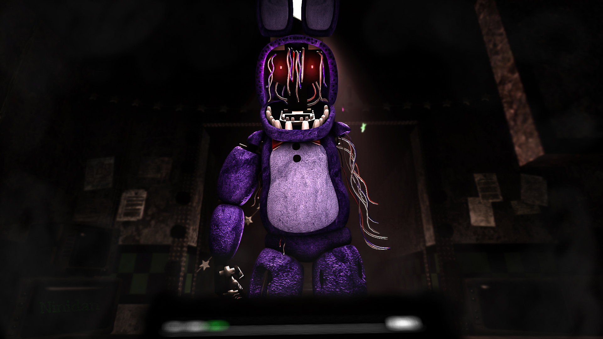 Snap Bonnie Running Fnaf Sfm By Cuteplushfoxy On